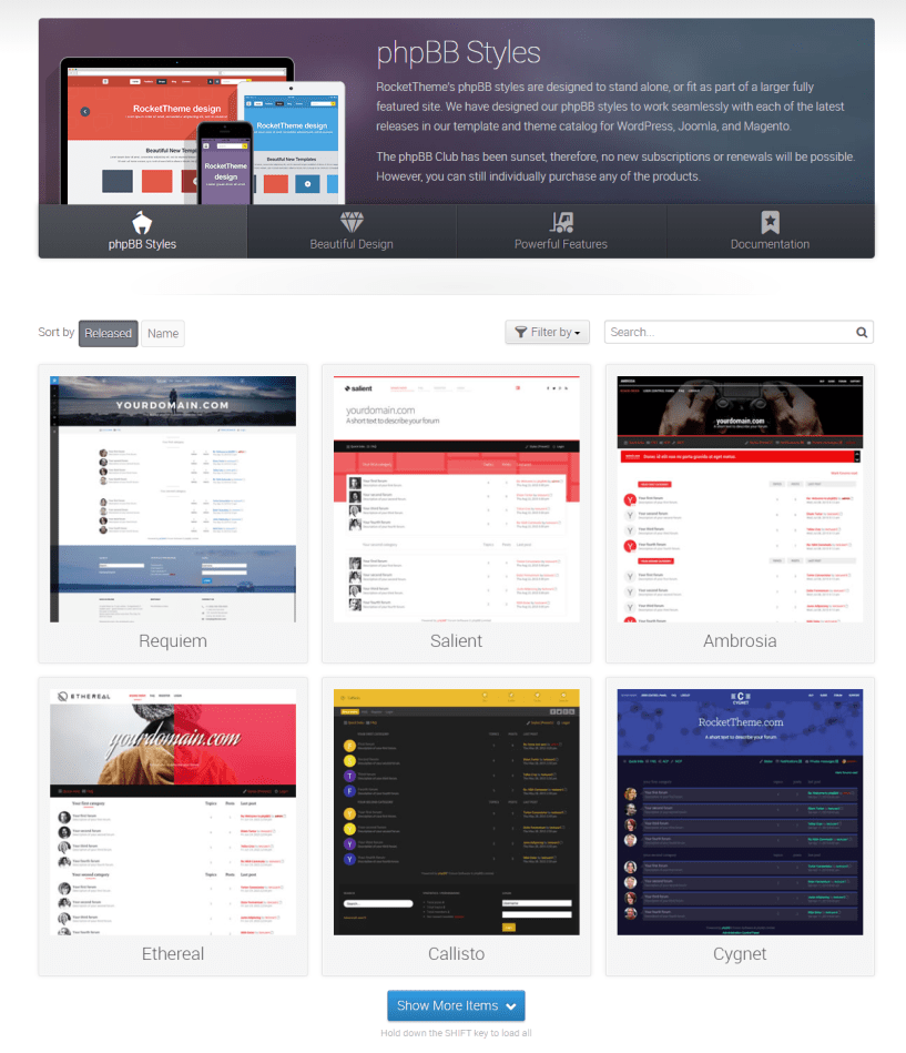 RocketTheme Review With Discount Coupon- phpBB Styles