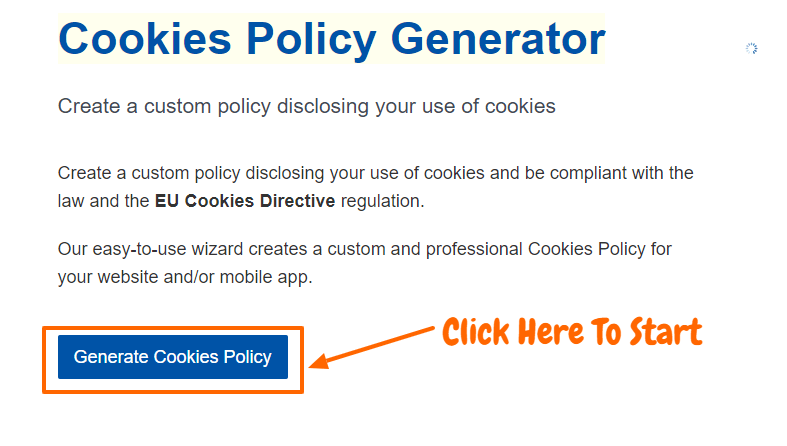 TermsFeed Review- Cookies Policy generator
