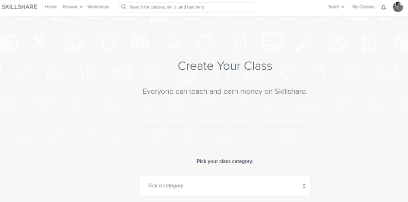 Udemy Vs Skillshare- class creation