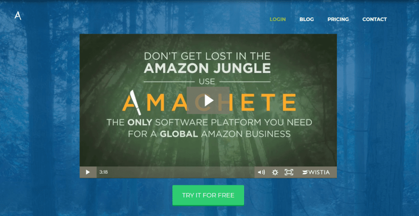 Amachete - The Only Private Label FBA Software
