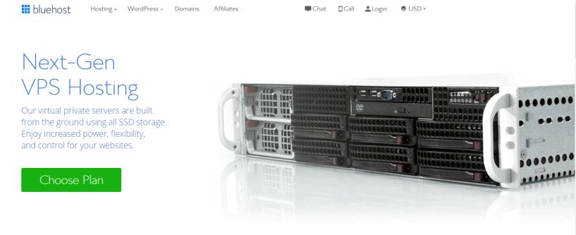 BlueHost VPS Hosting- Best Cloud VPS Hosting Provider