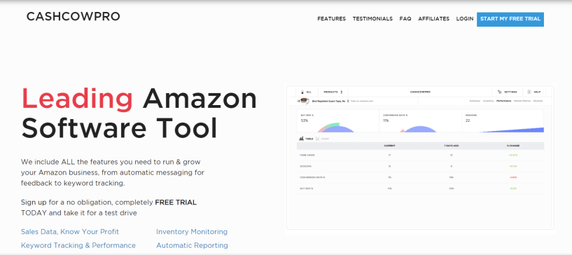 CASHCOWPRO - Winning Analytics for Amazon