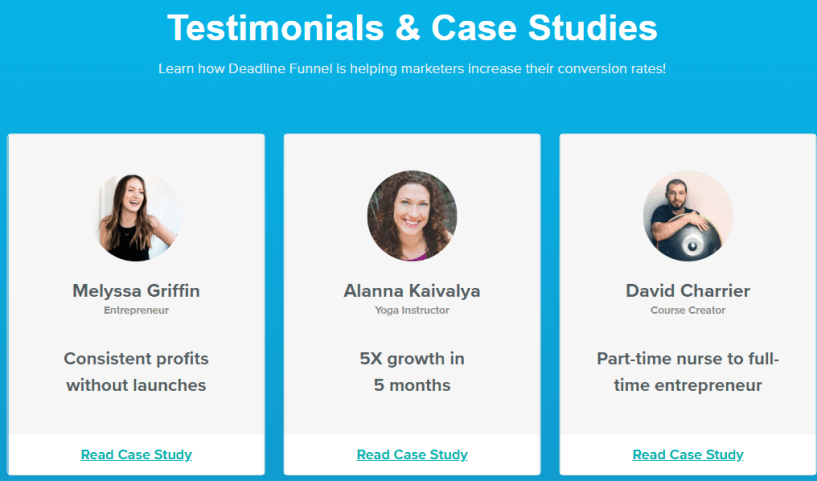 Deadline Funnel Review- Reviews and Testimonials