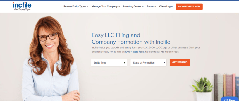 IncFile review with discount coupon -IncFile