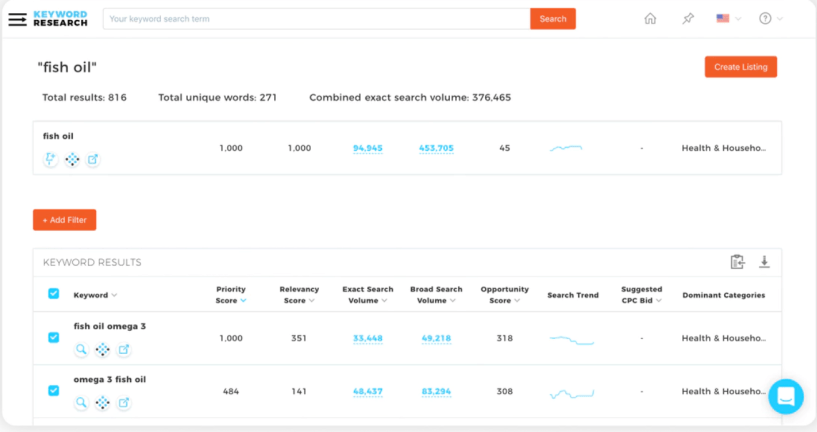 Viral Launch Review- Keyword Research