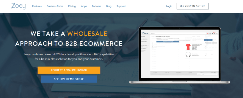 Zoey Review With Discount Coupon- B2B Wholesale eCommerce Platform