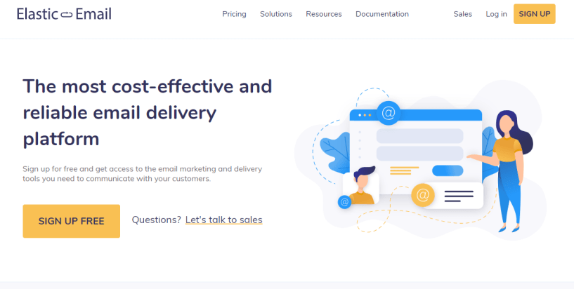 Elastic Email Review- The Reliable Email Delivery Platform