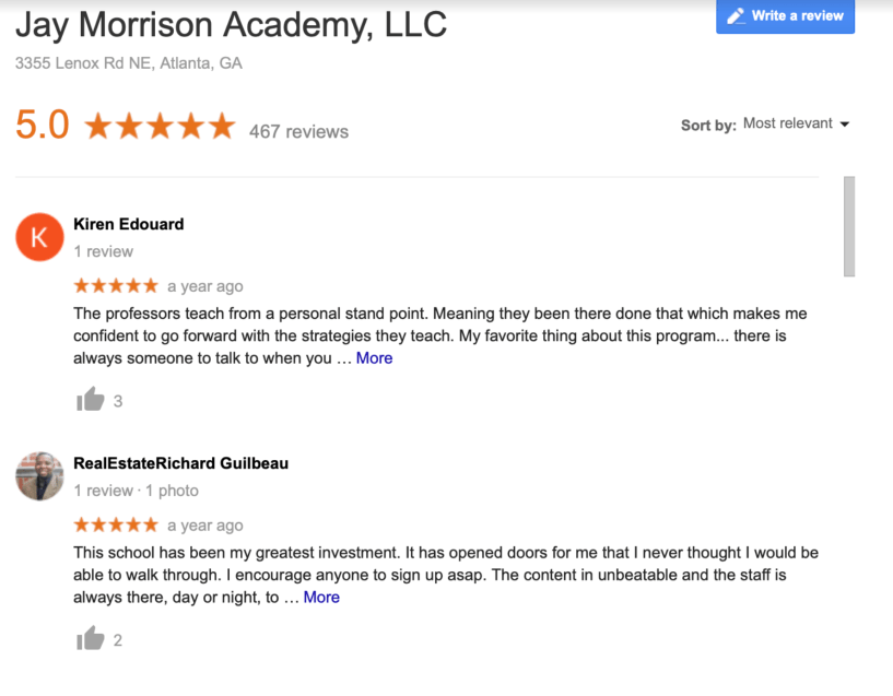 jay Morrison Reviews Academy reviews with discount