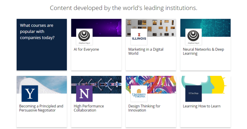 Coursera education review - developed