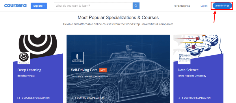 Coursera education review - popular
