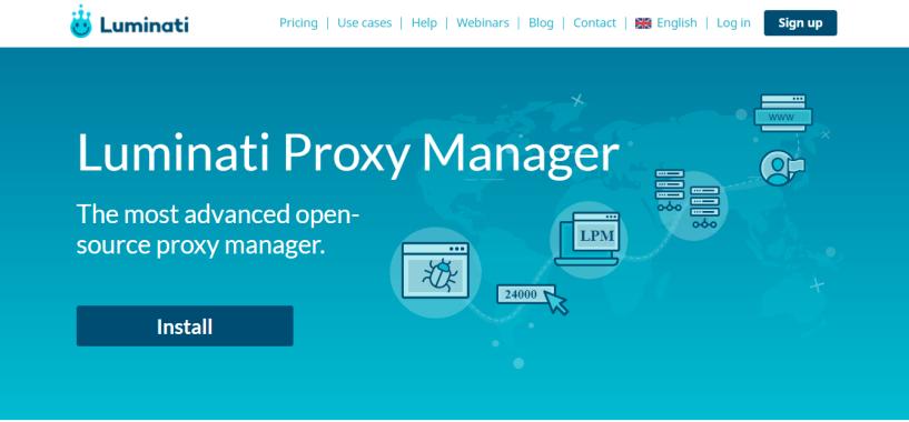 Luminati.IO Review - Proxy Manager