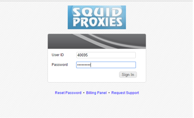 SquidProxies Review- Enter Your Details
