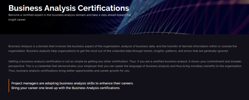 Whizlabs Review With Discount Coupon- Business Analysis Certifications