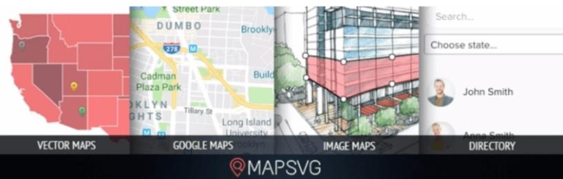 11 Best WordPress Store Locator Plugins- MapSVG Plugin