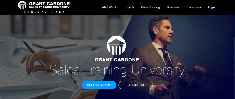 Grant Cardone Sales Training University Review