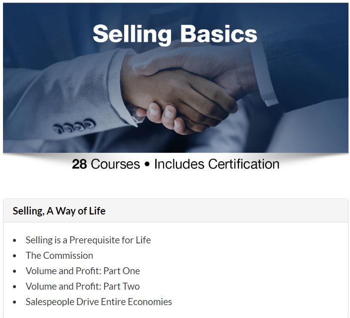 Grant Cardone Courses Review- Selling Basics Course