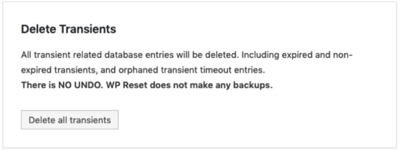 How To Reset WordPress Blog- Selective reset