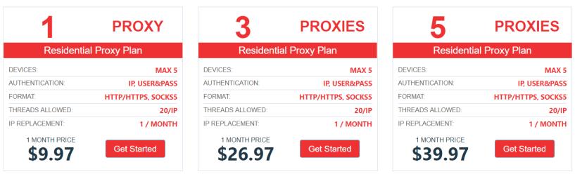 Updated) List Of Best SOCKS Proxies Start @4 99$ (3 Days