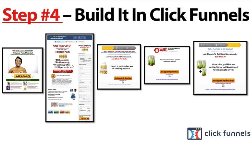 Funnel Hacks Review - build in click
