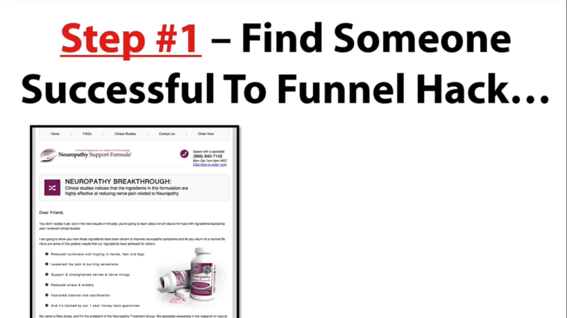 Funnel Hacks Review - find someone