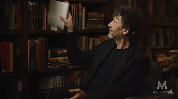 Neil Gaiman Storytelling Masterclass Review - read more and more