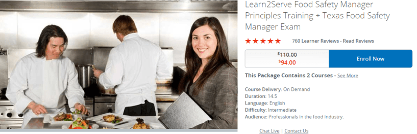 Learn2serve Review- food safety program pricing options