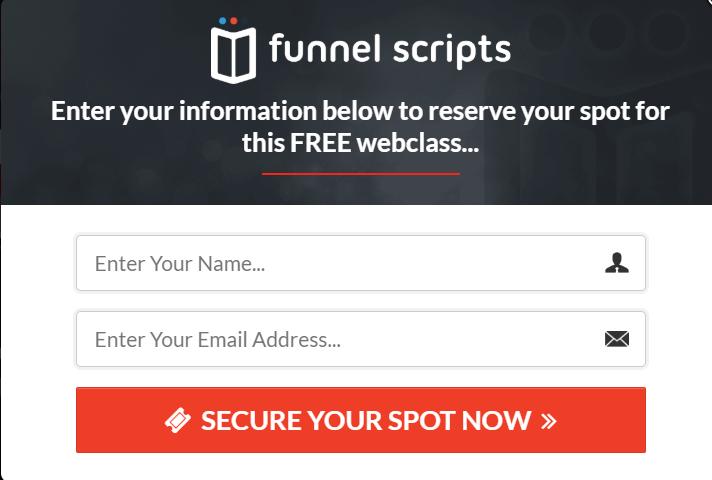 Funnel Scripts in Depth Review - Registration