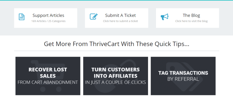 ThriveCart Vs ClickFunnels - fuction Support Help for ThriveCart
