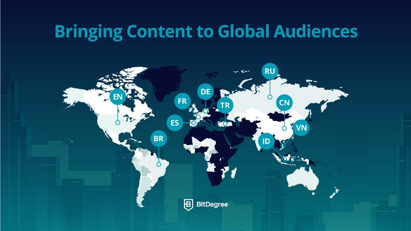 BitDegree Coupon - Global audiences