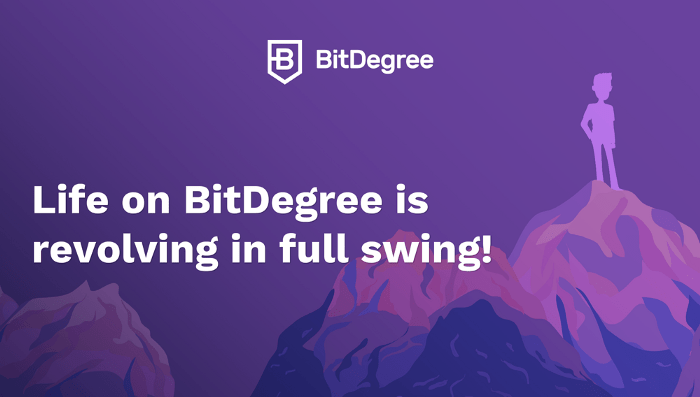 BitDegree Coupon - Home page