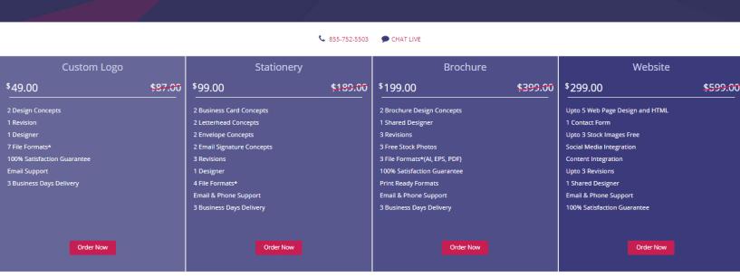 DesignMantic Review - website design price