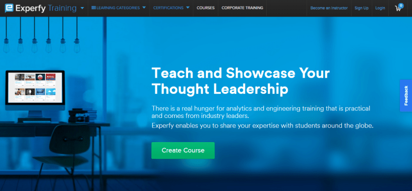 Experfy Review - teach and showcase