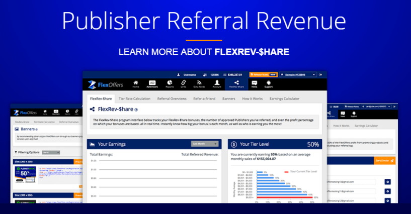 FlexOffers Review- Publisher Referral Program