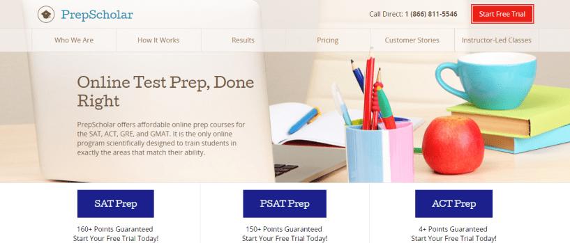 ACT discount - prepscholar