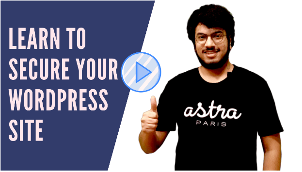Astra WordPress Security Course-