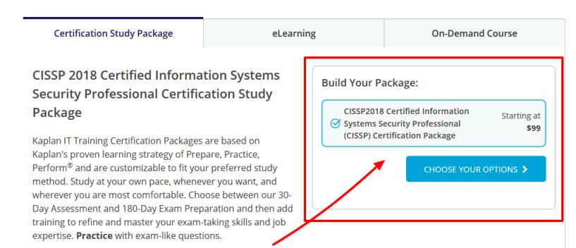CISSP - Kaplan IT Training Coupon Codes