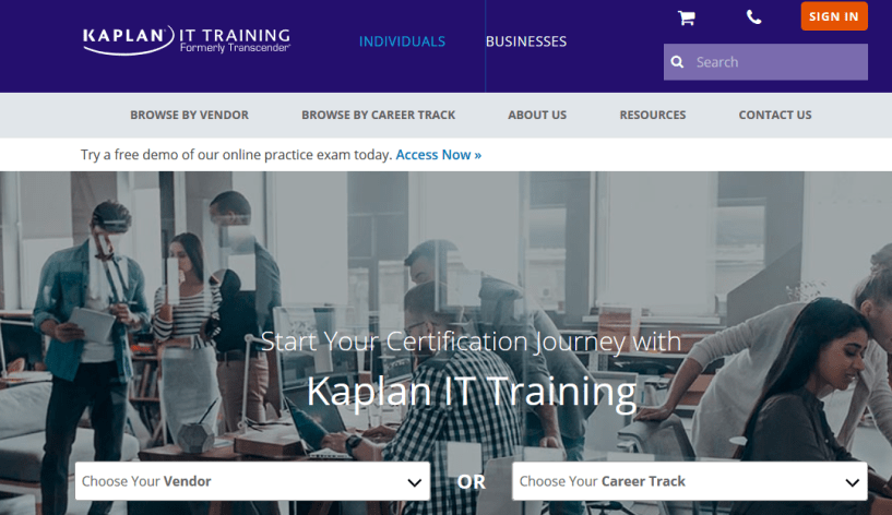 Kaplan IT Training Review- It Certifications