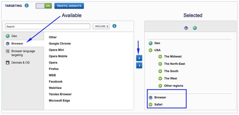 MGID vs Taboola- Browsers
