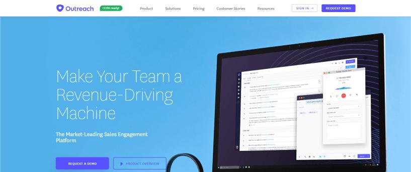 Outreach - Sales Engagement Platform