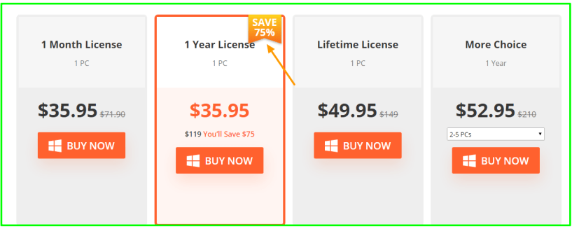 iCareFone Review With Discount Coupon - Pricing Plan
