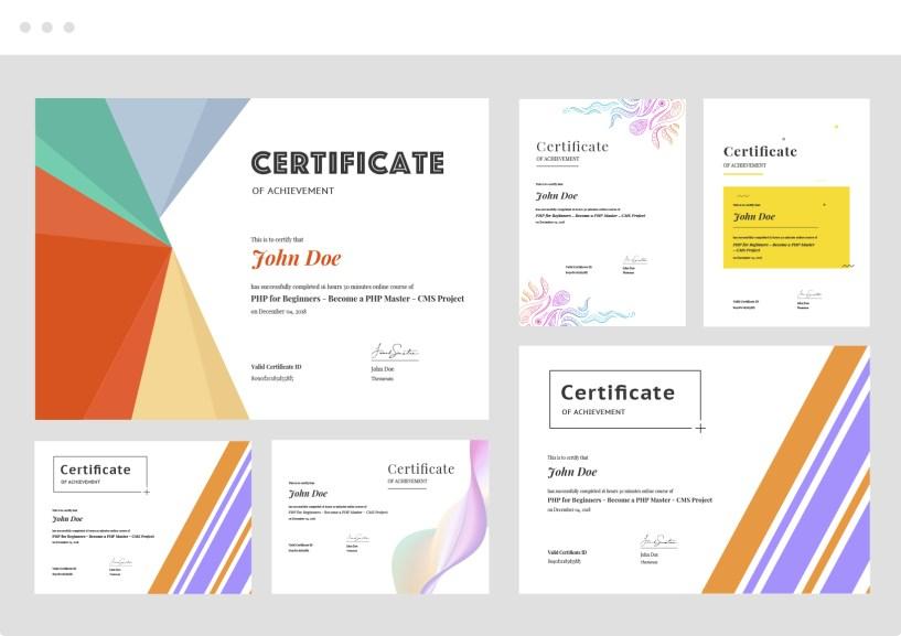 Tutor LMS Certificates