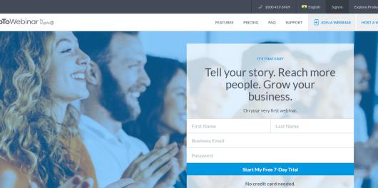 GoToWebinar Review: Webinar Software & Hosting Solutions _ GoToWebinar
