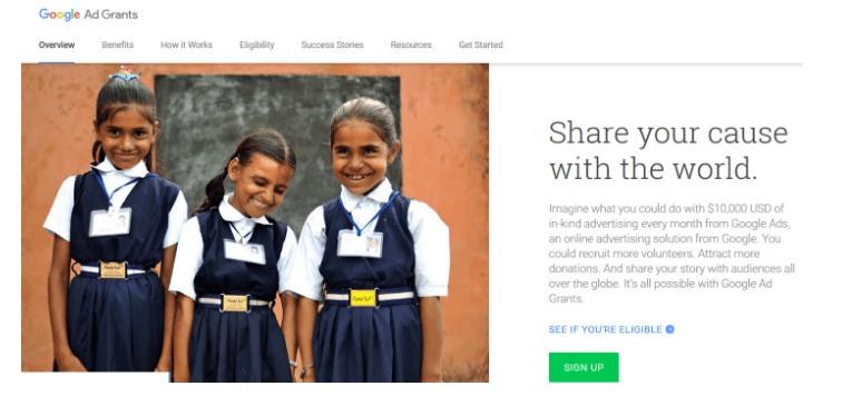 Ecommerce Case Study - Google Add Grants