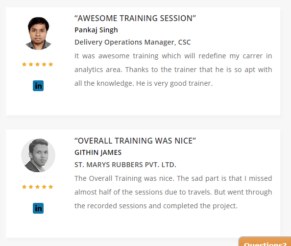 Excelr Review - Testimonial