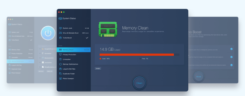 iObit's MacBooster Review- Memory Clean