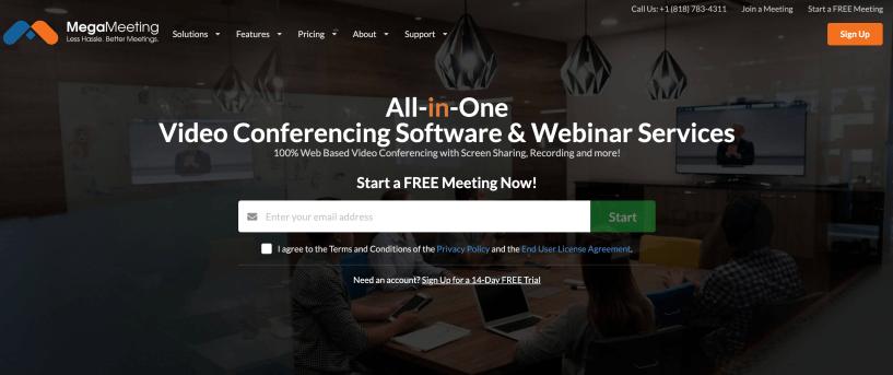 MegaMeeting- Web Conferencing