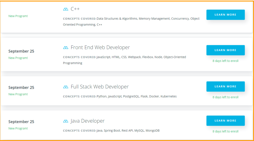 Udacity Courses Review - Programming