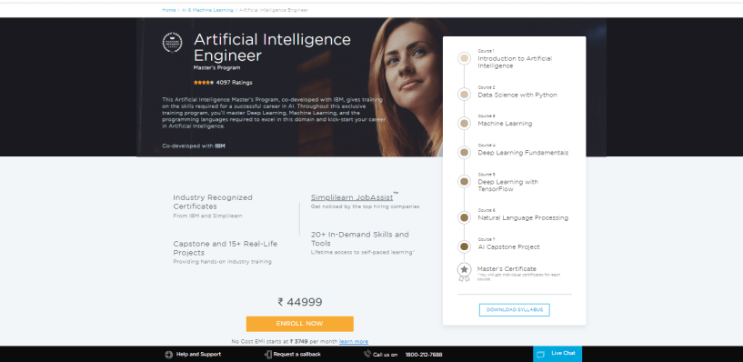 Simplilearn Review - Artificial