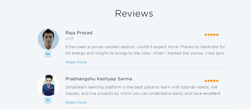 Simplilearn Review -Cloud Review