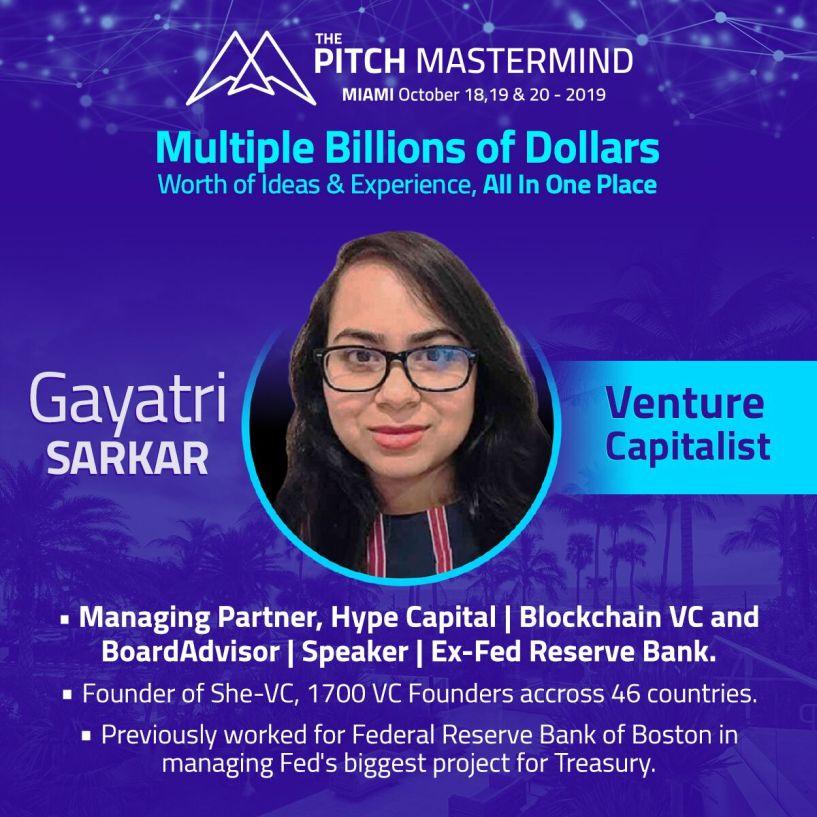 the pitch mastermind Gayatri